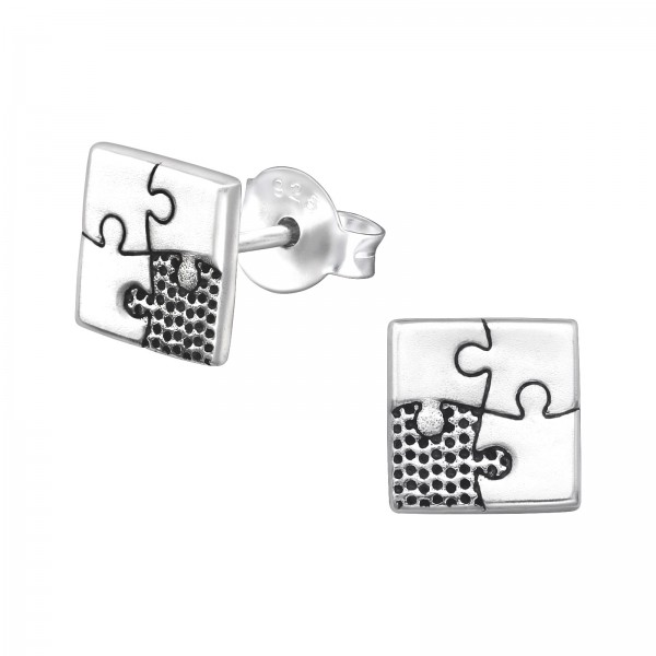 Plain Ear Studs ES-JB9175 OX/32191