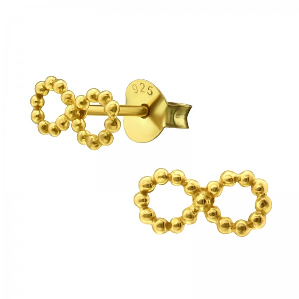 Plain Ear Studs ES-JB9334 GP/32493
