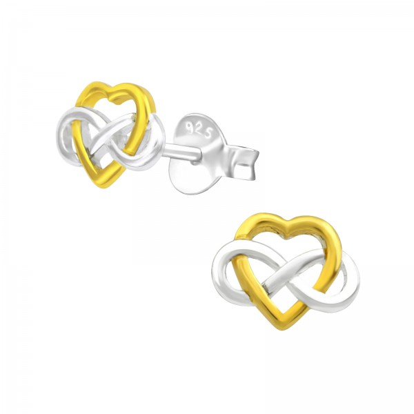 Plain Ear Studs ES-JB9431-2TGP/36670