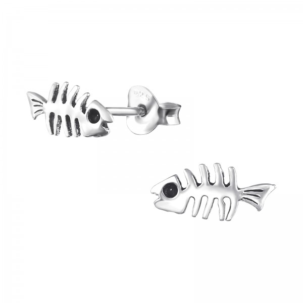 Plain Ear Studs ES-MI019 OX/32408