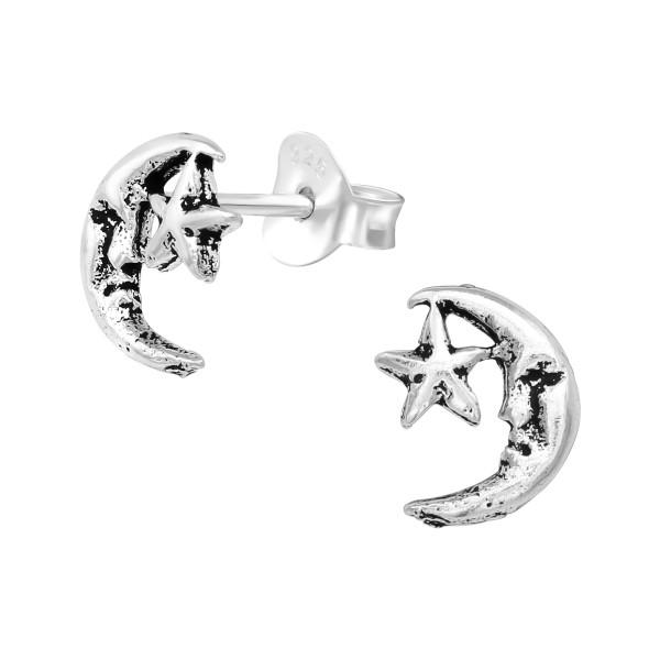 Plain Ear Studs ES-MI042 OX/39718