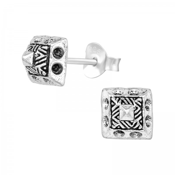 Plain Ear Studs ES-MM038 OX/39557