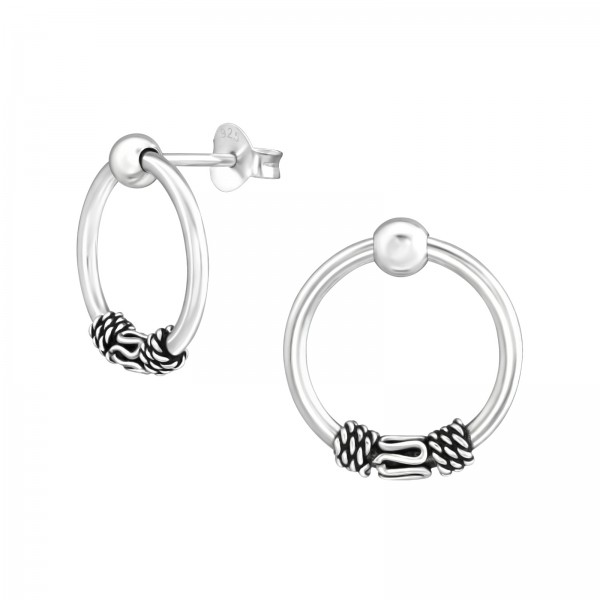 Plain Ear Studs ES-TS002 OX/37868