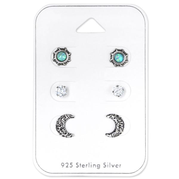 Sets & Jewelry on Cards ES-APS2676-CNOP-MINT OX/ES-APS2019 CRY/ES-APS2899 OX/33250