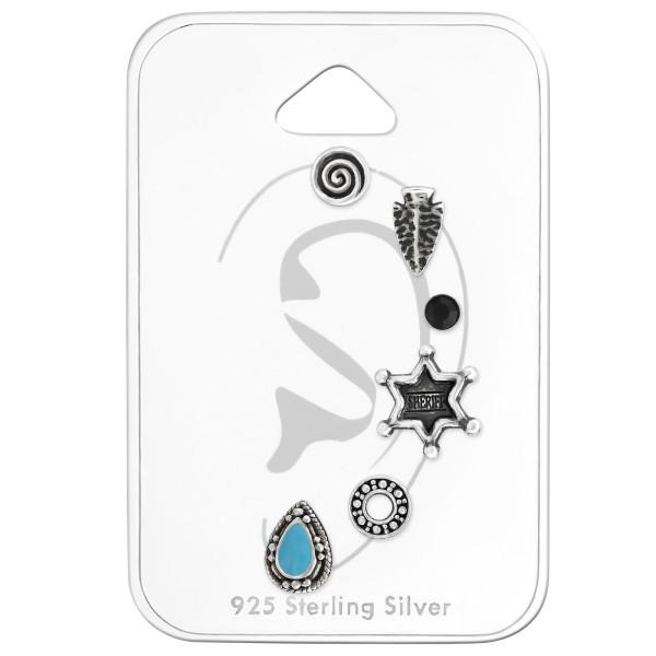 Sets & Jewelry on Cards ES-APS2870 OX/ES-APS2710 OX/ES-04 JET/ES-APS2683 OX/ES-APS2447 OX/ES-APS2360-E BL OX /33300