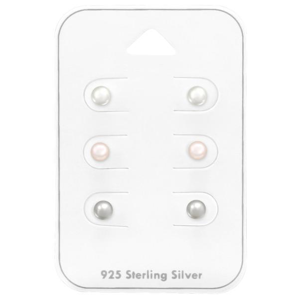 Sets & Jewelry on Cards ES-JP3-PPL4X3 WH/LT.PK/LT.GREY/38735