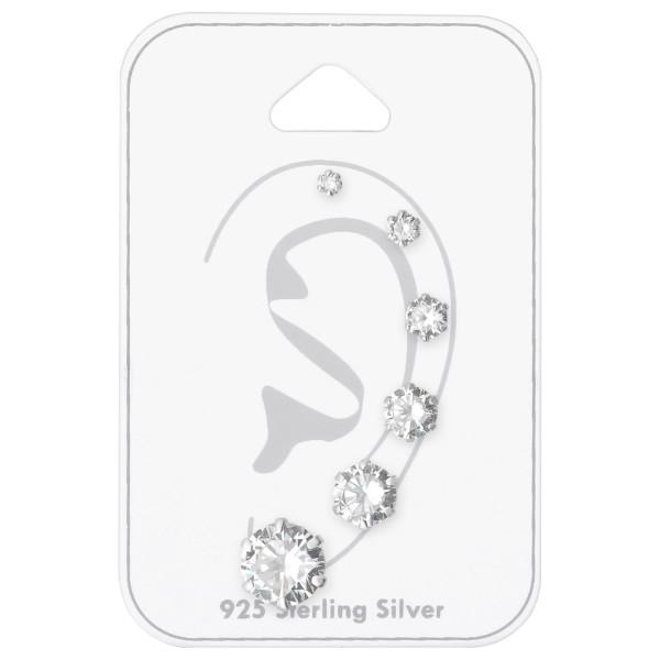 Sets & Jewelry on Cards ESA-R2-6P/ESA-R3-6P/ESA-R4-6P/ESA-R5-6P/ESA-R6-6P/ESA-R8-6P/35248