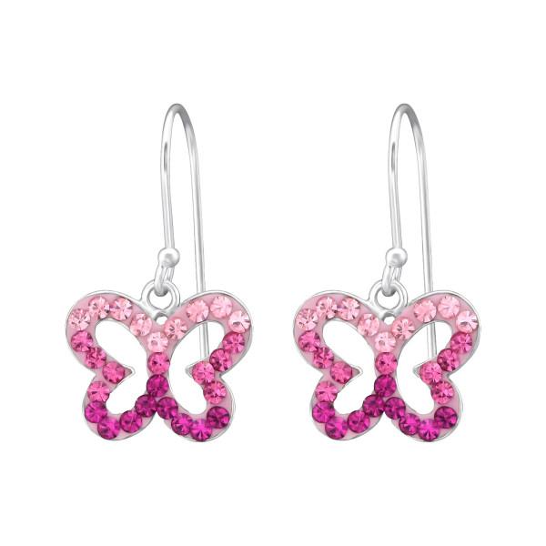 Crystal Earrings CCER-APS1038 LT.RO/RO/FUC/35058