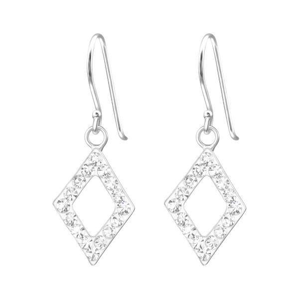 Crystal Earrings CCER-APS1102 (PP-12)/15863