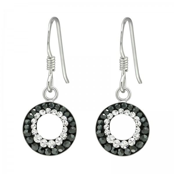 Crystal Earrings CCER-APS1446-RP HEM/CRY/41038