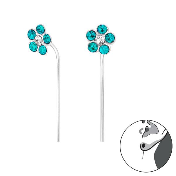 Crystal Earrings ER-APS1667-APS2424 BZ/CRY/32496