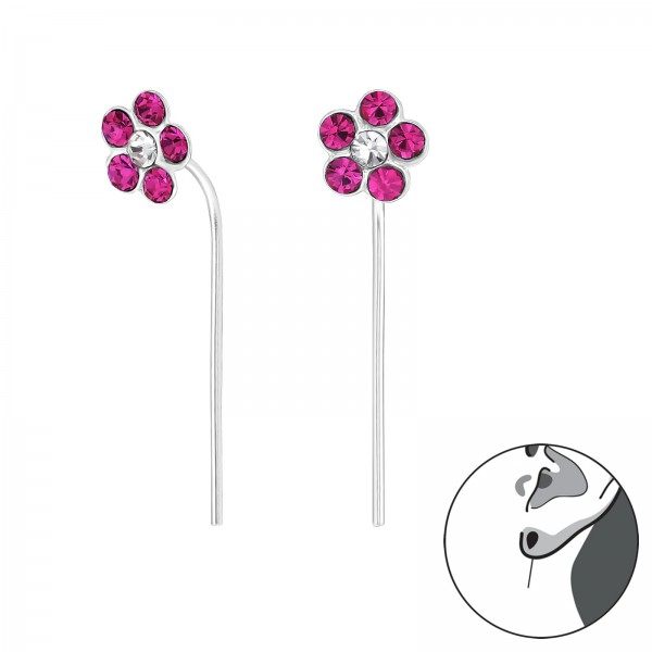 Crystal Earrings ER-APS1667-APS2424 FUS/CRY/32497