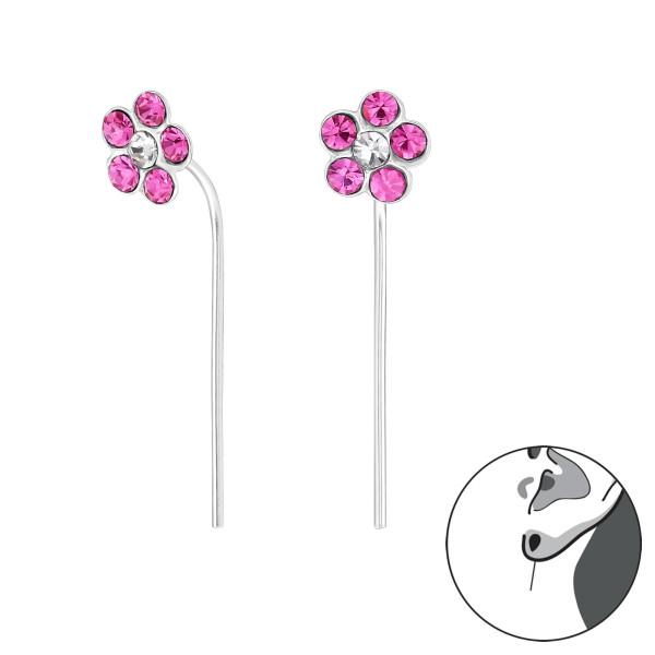 Crystal Earrings ER-APS1667-APS2424 ROSE/CRY/32495