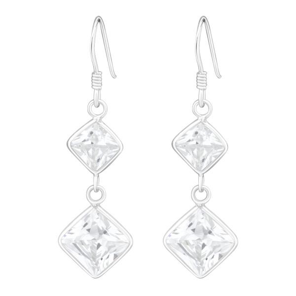 Cubic Zirconia Earrings CZA-103/440