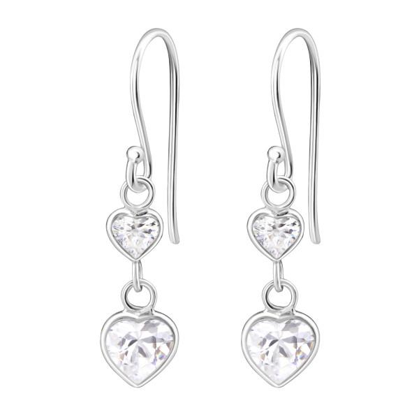 Cubic Zirconia Earrings CZA-403/6028