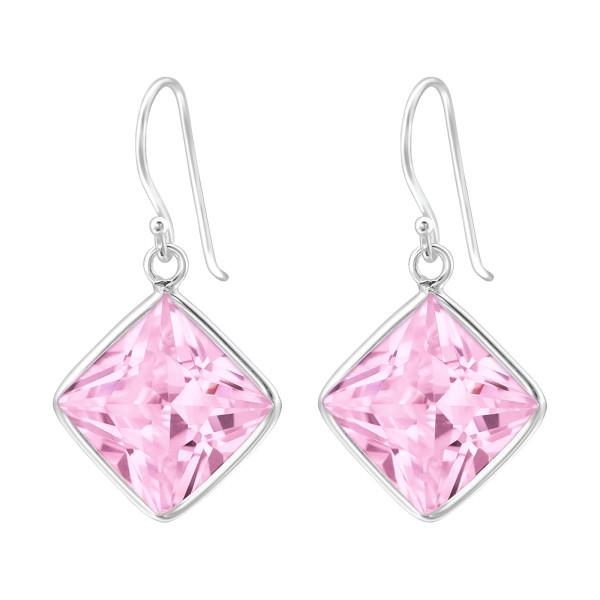 Cubic Zirconia Earrings CZAQ-12/23459