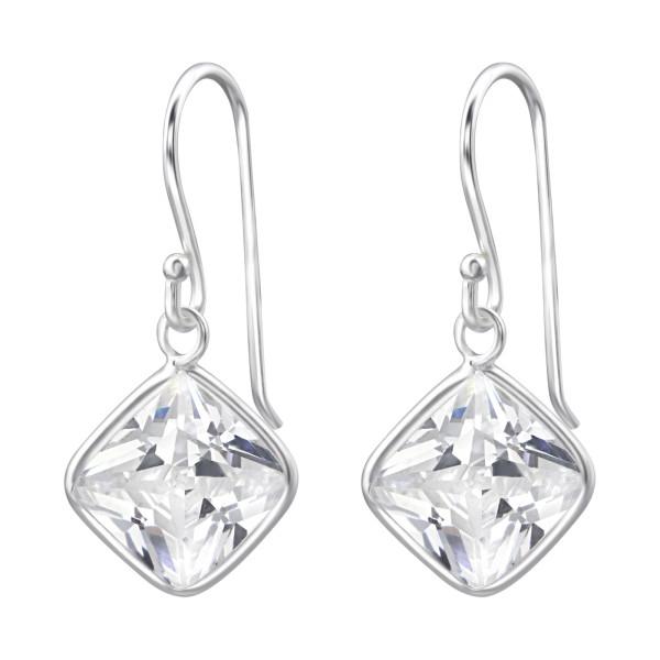 Cubic Zirconia Earrings CZAQ-9 V1/17057