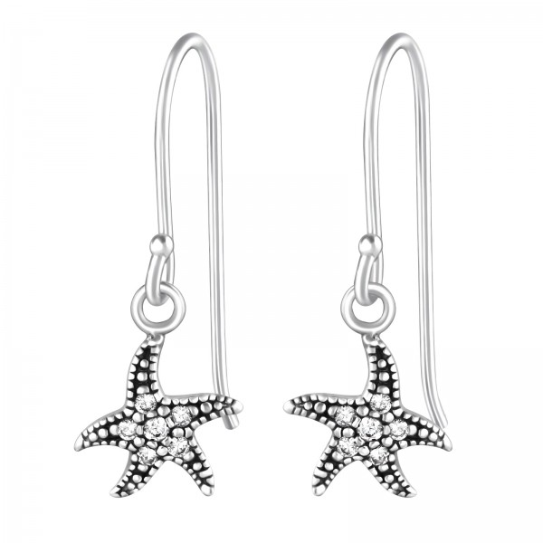 Cubic Zirconia Earrings ER-JB9379 OX/36813