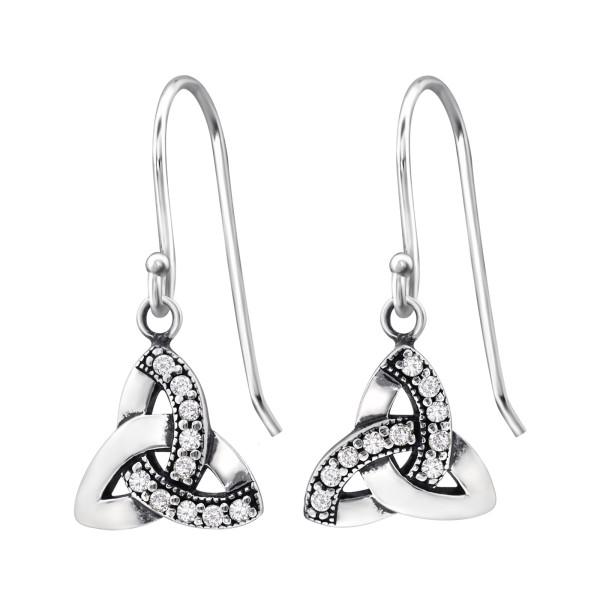 Cubic Zirconia Earrings ER-JB9401 OX/31246