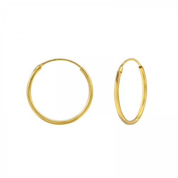 Ear Hoops CR1.2X18 GP/36662