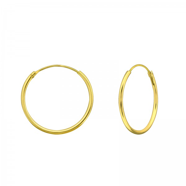 Ear Hoops CR1.2X20 GP/39655