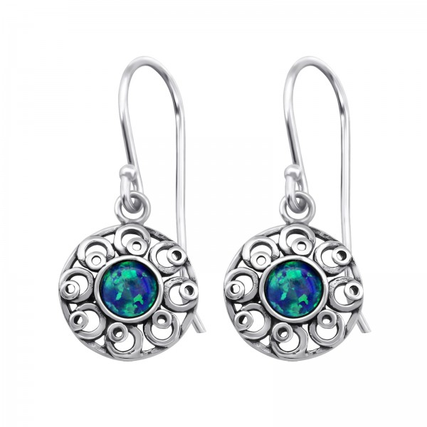 Opal and Semi Precious Earrings ER-JB7486 OX/23653