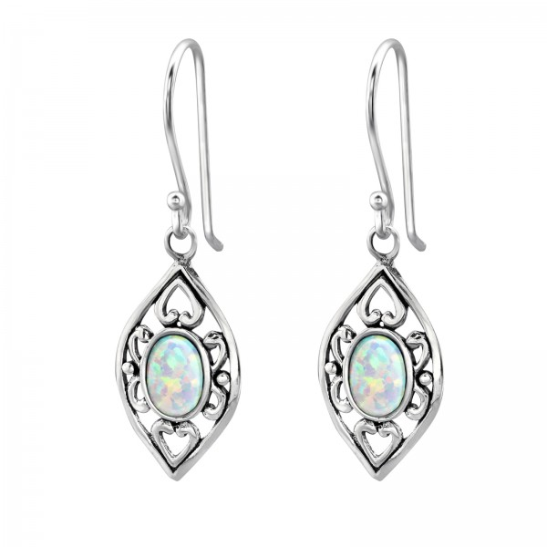 Opal and Semi Precious Earrings ER-JB7488 OX/23657