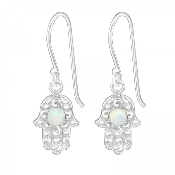 Opal and Semi Precious Earrings ER-JB7777/26633