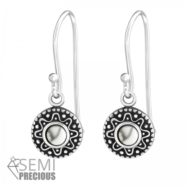Opal and Semi Precious Earrings ER-JB9472-S OX/33840
