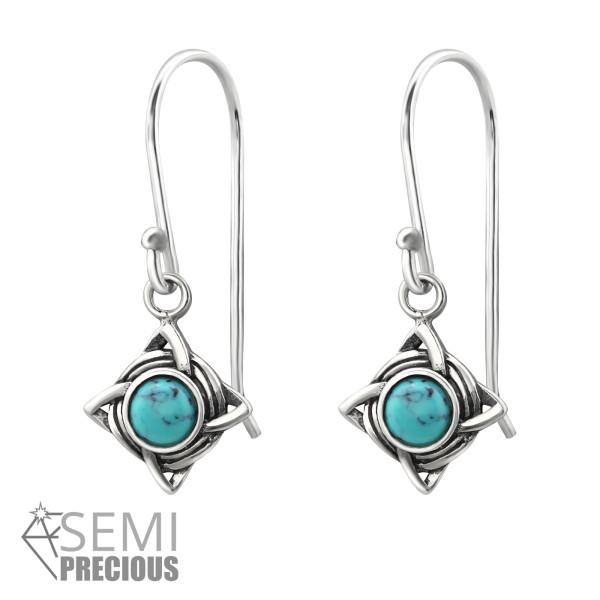 Opal and Semi Precious Earrings ER-JB9489-S OX/31249