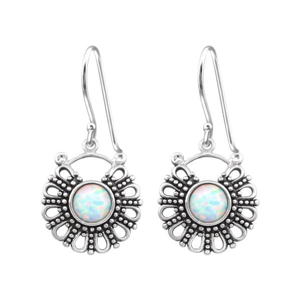 Opal and Semi Precious Earrings ER-JB9541 OX/32048