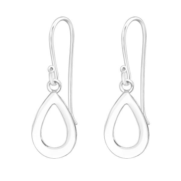 Plain Earrings ER-APS2506-FLAT/38268