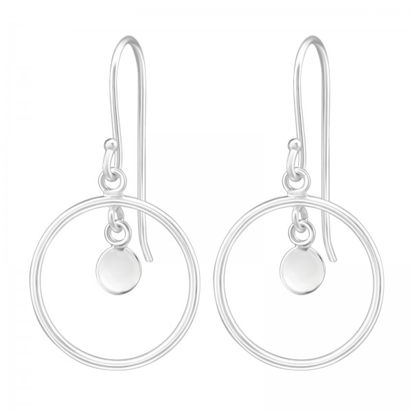 Plain Earrings ER-APS3085-CCRD4-FL/36992