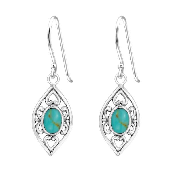 Plain Earrings ER-JB7488-SHELL OX/39430