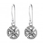 Silver Celtic Earrings, #31570