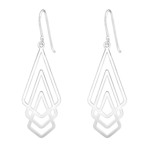 Plain Earrings ER-LS016-CURVE/39203