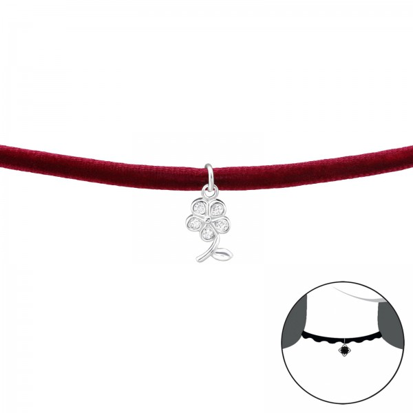 Choker CK-RED-HP-JB8475/34597