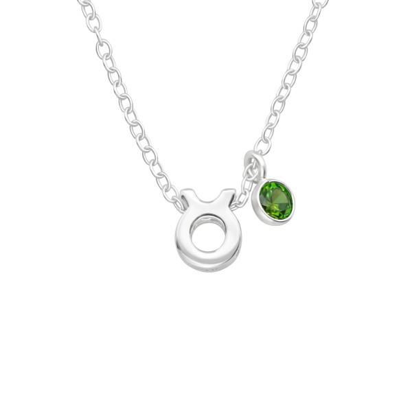 Jeweled Necklace FORZ25-BD-JB13404-TOP-CZA-R3-EME/40163