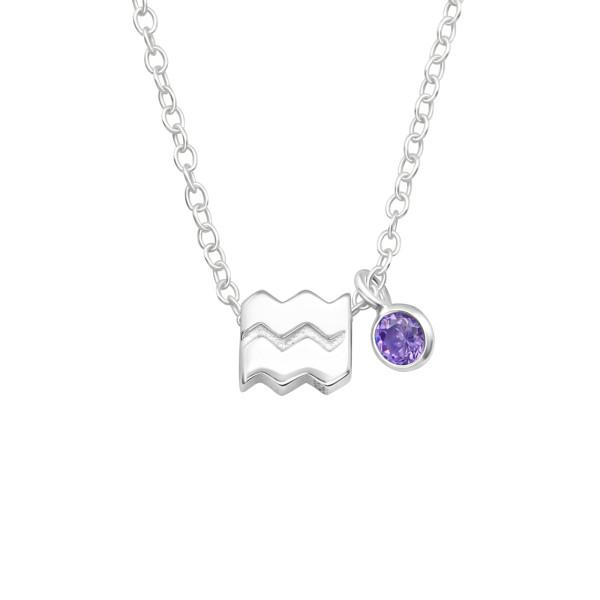 Jeweled Necklace FORZ25-BD-JB13427-TOP-CZA-R3-AMT/40158