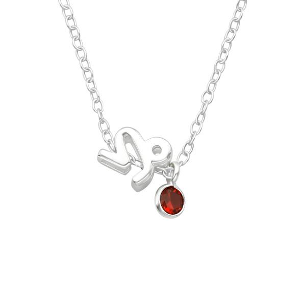 Jeweled Necklace FORZ25-BD-JB13433-TOP-CZA-R3-GAR/40157