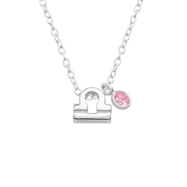 Jeweled Necklace FORZ25-BD-JB13434-TOP-CZA-R3-PK/40175