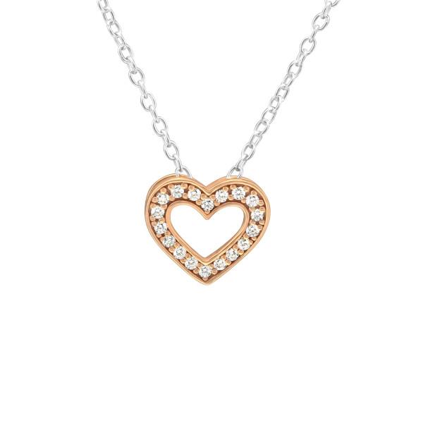 Jeweled Necklace FORZ25-BH-JB11415 SP/RGP /39176