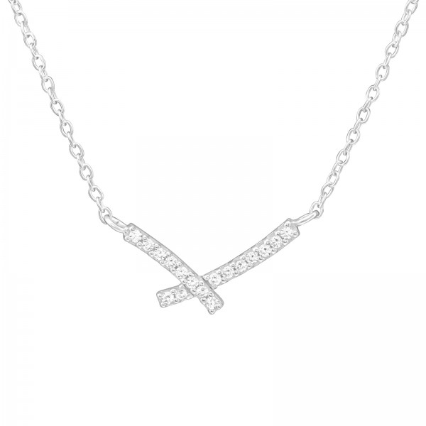 Jeweled Necklace FORZ25-NK-JB10490/36815