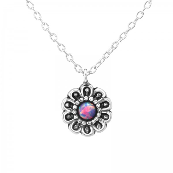 Jeweled Necklace FORZ25-TOP-APS2872 OX/37064