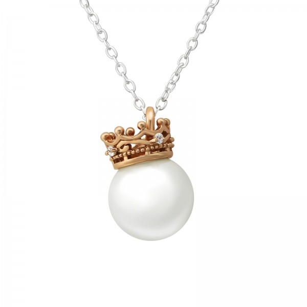 Jeweled Necklace FORZ25-TOP-JB10311-P10-GLASS-PART-JB10192-RGP/36228