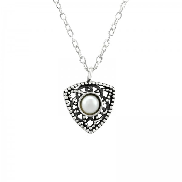 Jeweled Necklace FORZ25-TOP-JB10755-PP05-4 OX/38440