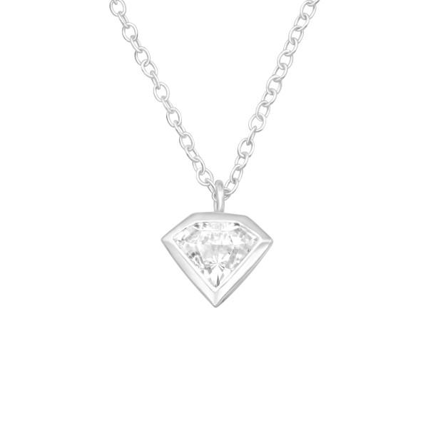Jeweled Necklace FORZ25-TOP-JB10820 CZSWR/40410