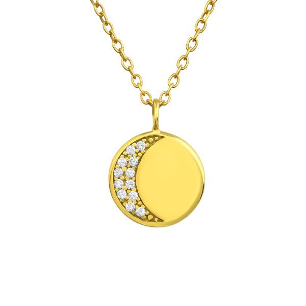 Jeweled Necklace FORZ25-TOP-JB11240 GP/36847