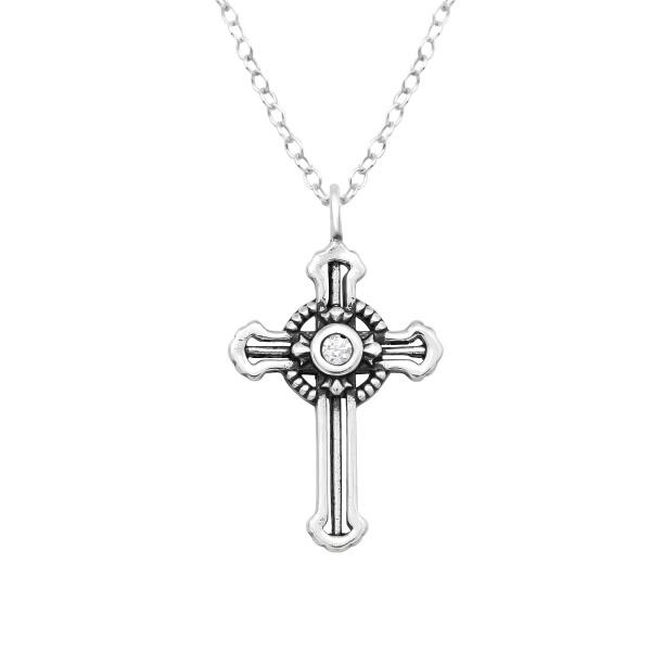 Jeweled Necklace FORZ25-TOP-JB12960 OX/38856