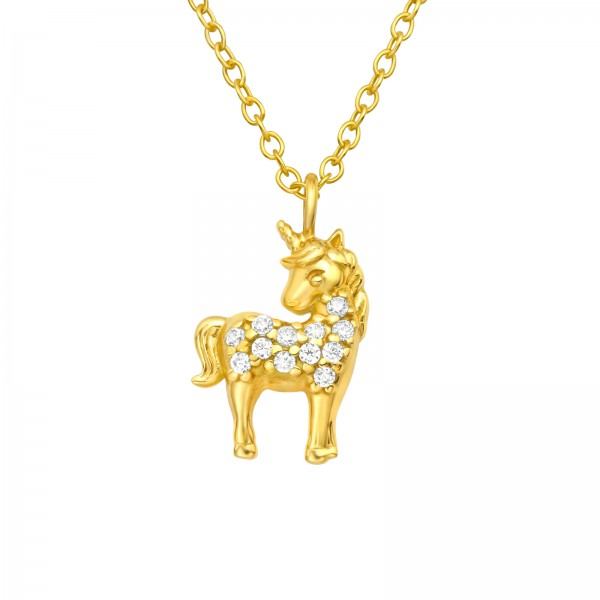Jeweled Necklace FORZ25-TOP-JB13869 GP/40413